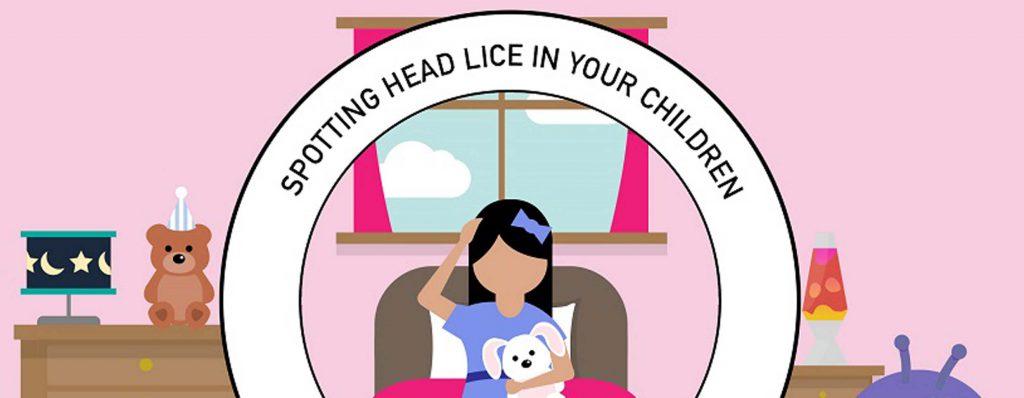Spotting Headlice in Children